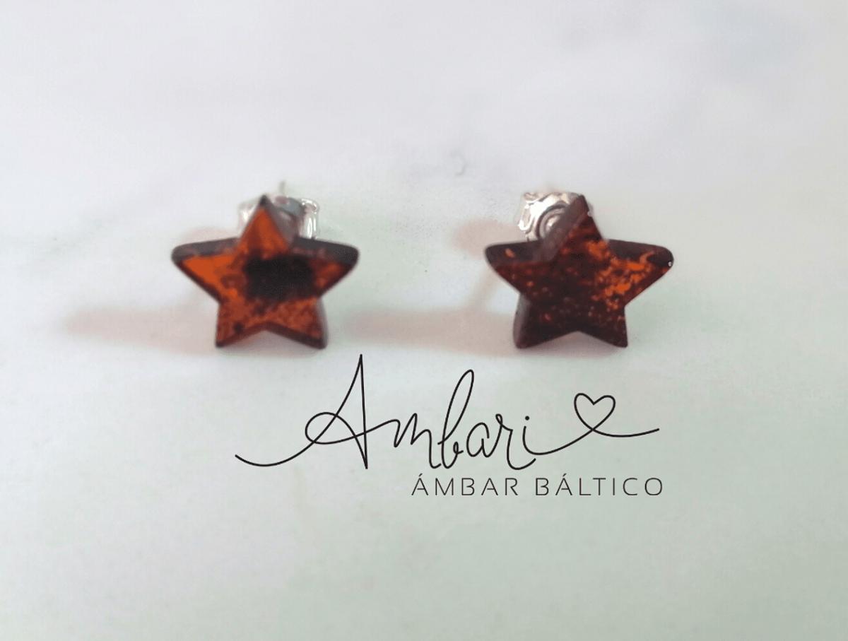 Aros Ambar Estrella 001