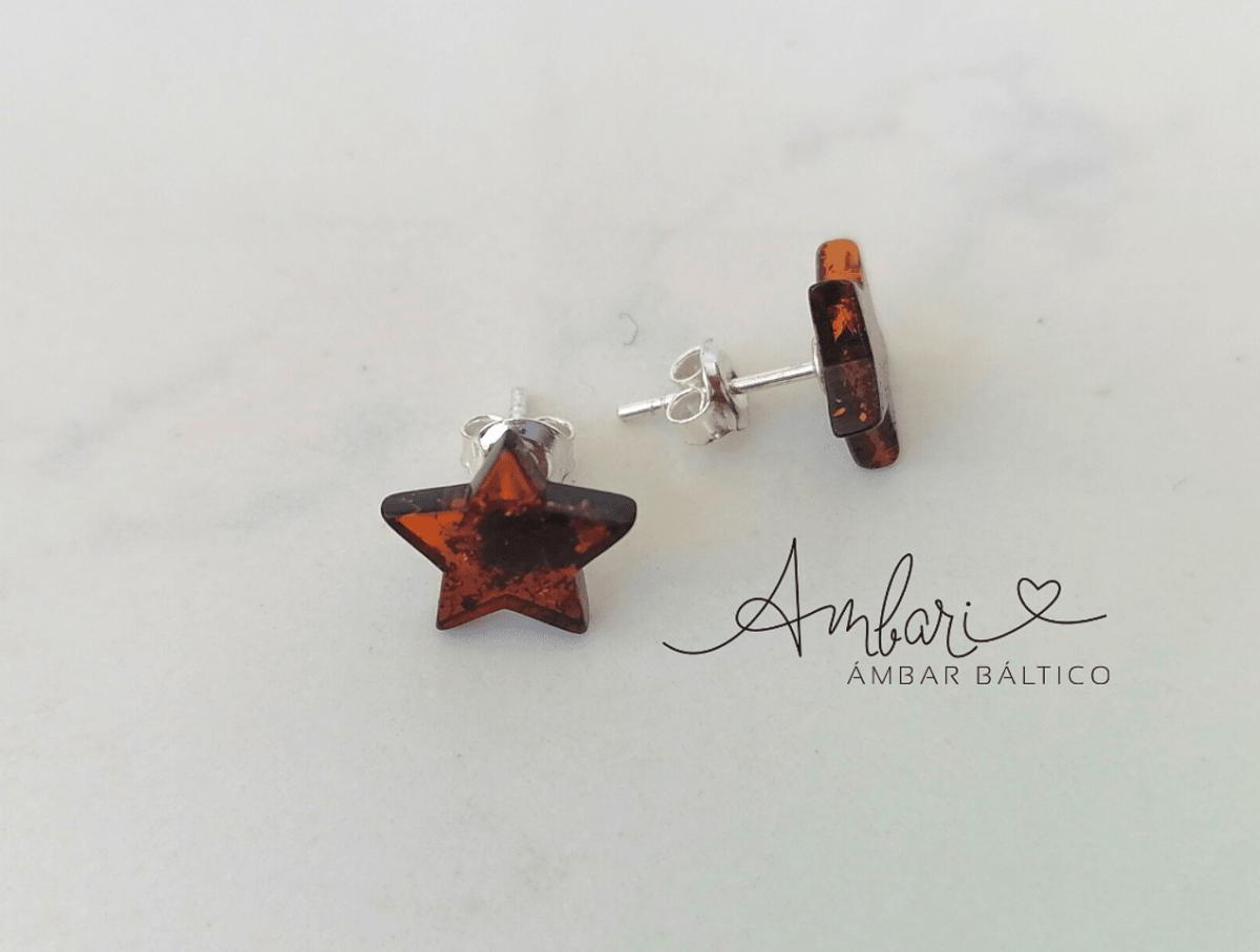 Aros Ambar Estrella 002